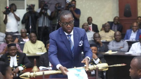 Okowa presents 2020 budget of N389bn to Delta Assembly