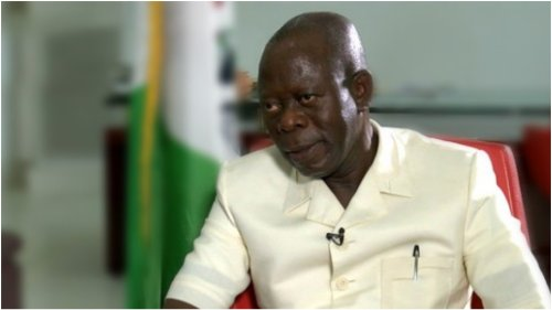 Oshiomhole's party leadership style boosting Buhari's administration — Lucky James