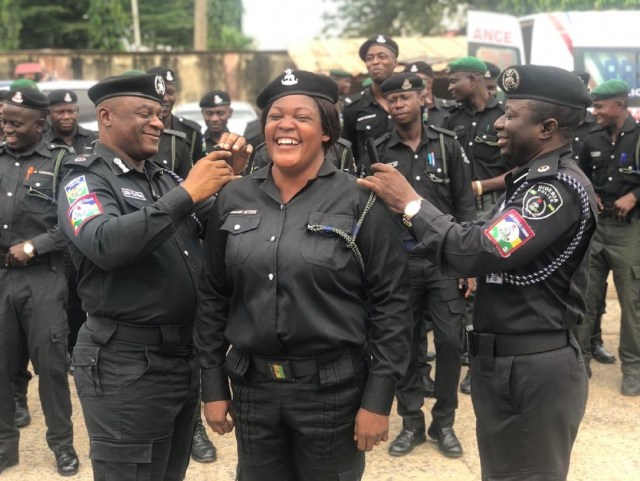 #TheGoodGuys: DCP Tunji Disu decorates 128 promoted RRS officers (Photos, video)