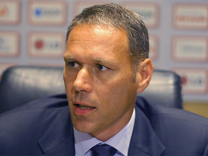 Soccer pundit Marco van Basten suspended for on-air Nazi expression