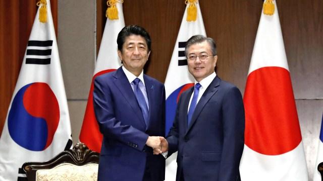 South Korea, Japan