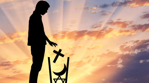 When to decide how religious you want to be