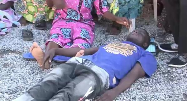 VIDEO: Bishop restores half-dead man to life in Adamawa