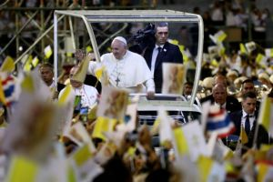 Pope Francis, Thailand