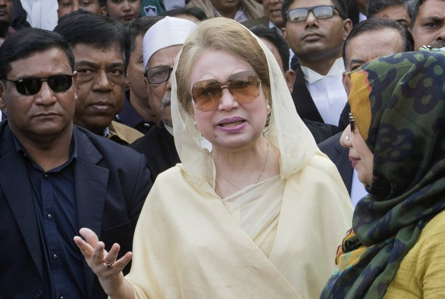 Bangladesh's top court denies release for jailed ex-premier Zia