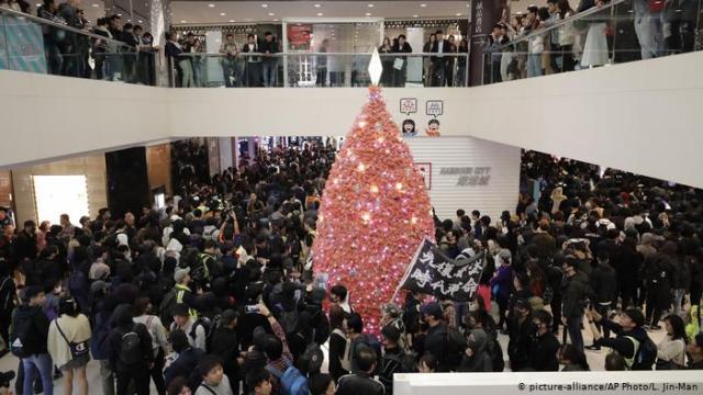 Hong Kong, Christmas, Protests