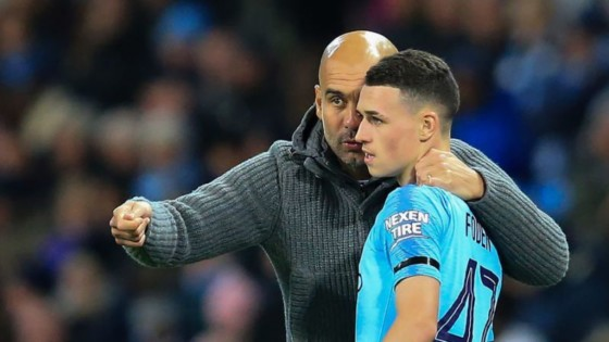 Pep Guardiola, Phil Foden