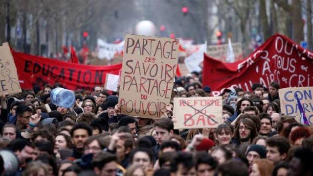 France, Protests, Paris