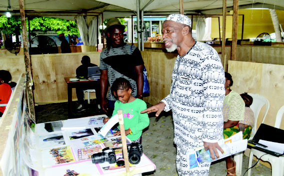 Anufotogirl promoting Nigeria's tourism potentials   @ LABAF 2019