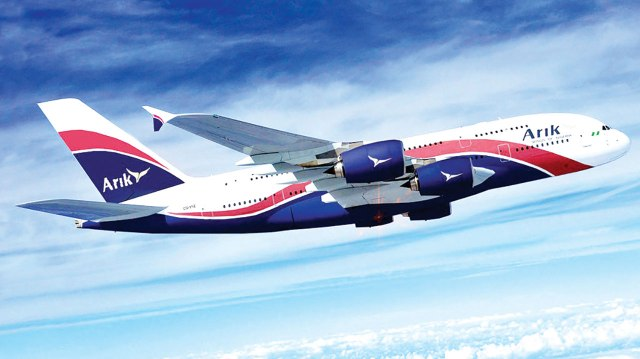 Arik Air resumes flight operations Oct 24