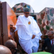 President Buhari unveils made in Nigeria armoured vehicles