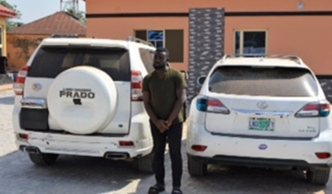 EFCC invades Yahoo-Boys den, arrests kingpin, 26 Others