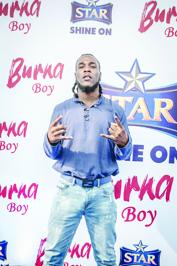Burna Boy brightens up STAR Lager's all-new campaign