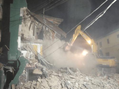 LASEMA begins demolition of distress buildings in Lagos