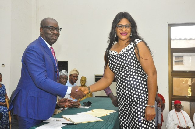 Obaseki inaugurates EIRS, EDOSACA, Waste Mgt boards, charges them on quality service