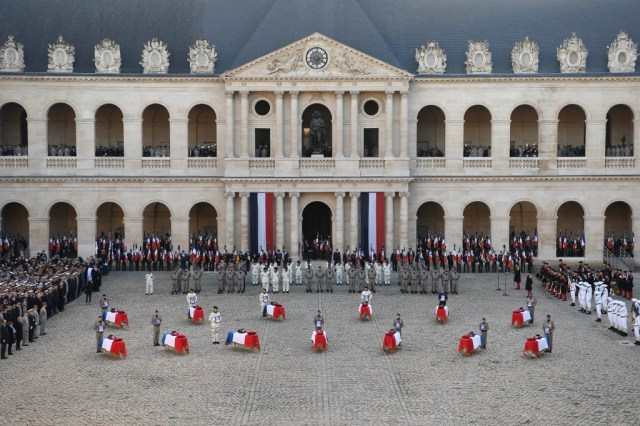 France honours 13 soldiers killed in Mali helicopter disaster