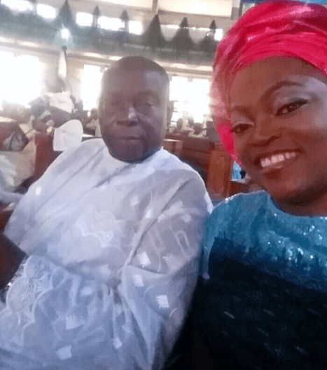 Movie producer, Funke Akindele loses dad