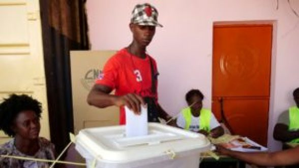 Guinea-Bissau votes in presidential runoff to end turmoil