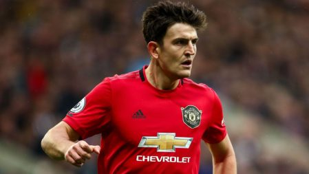 Maguire says top four in sight for improving Manchester United
