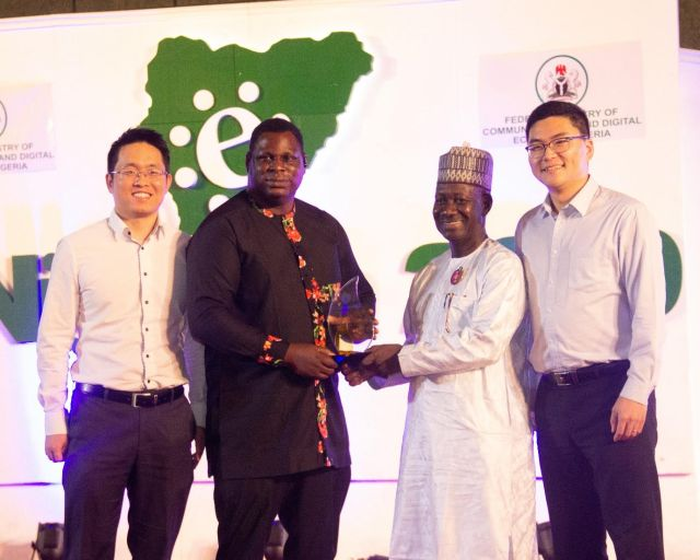 Huawei bags NITDA award for promoting digital economy