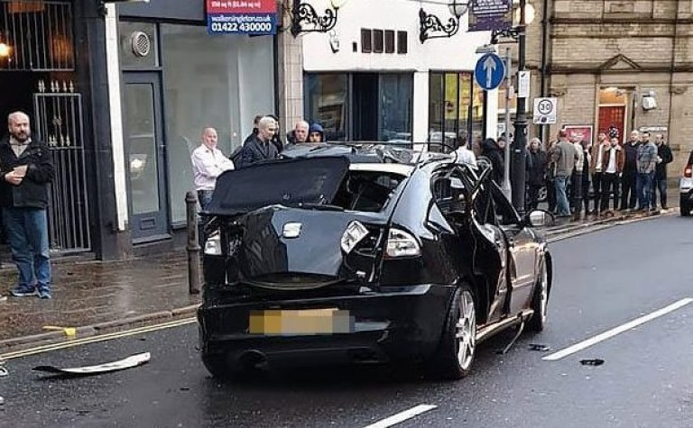 Driver 'blows up' vehicle with 'excessive' use of air freshener