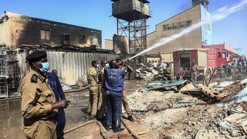 More than 23 killed, 123 injured in Sudan factory fire