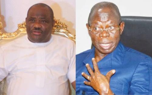Wike, Oshiomhole clash over leadership by example