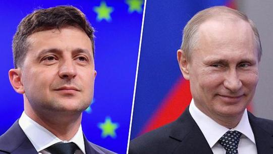 Putin, Zelensky meet in Paris push to end Ukraine war