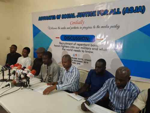 Group punctures allegations against military on recruitment of ex-Boko Haram members