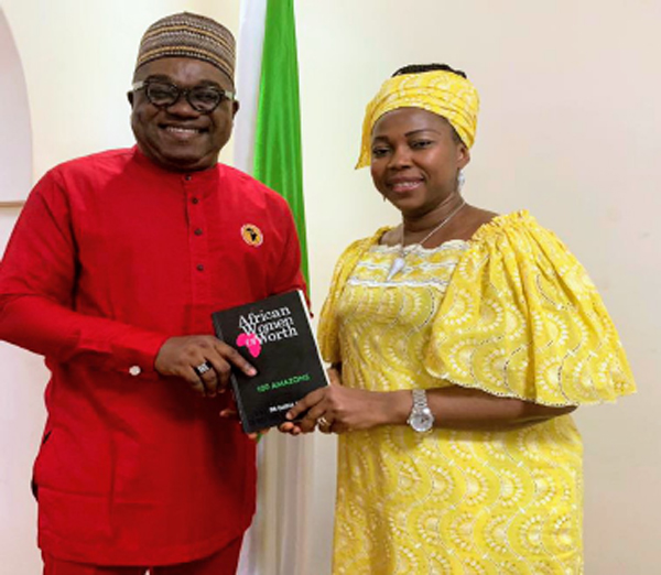 Sierra Leone First Lady, Fatima Bio, others for AWLO 2020
