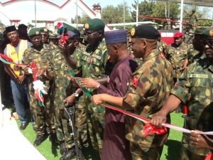 Buratai inaugurates multi-million Naira projects in Depot, NMS