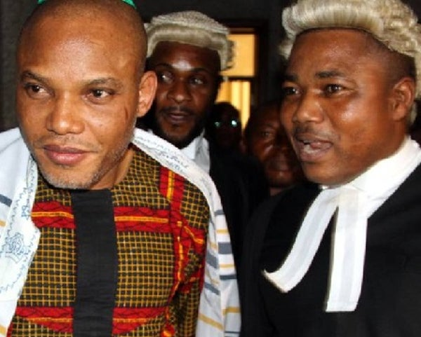IPOB leader's lawyer alleges more than 10 people were killed
