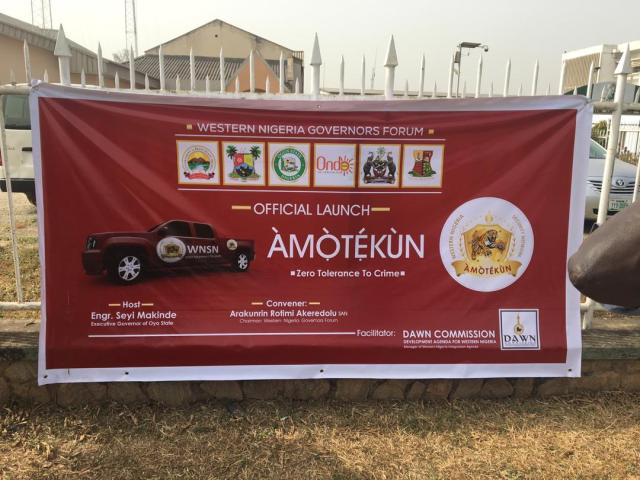 Desirability of Amotekun and the Need to guide against possible abuse