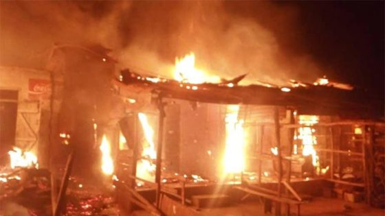 1 dies, 3 injured as fire guts Fulani settlement in Kogi