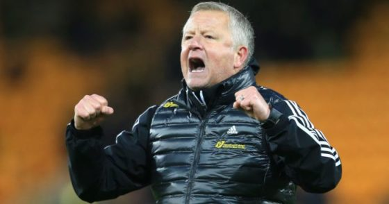 Chris Wilder, Sheffield United