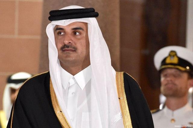Emir Sheikh Tamim bin Hamad Al-Thani