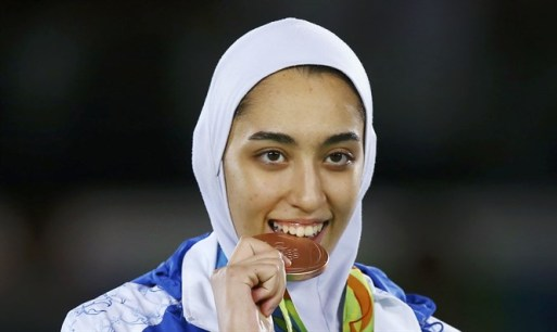 Iran's only female Olympic medalist quits country