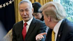 China's Vice Premier, Liu to sign trade deal with U.S. next week