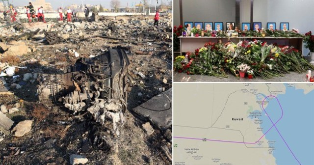 Crew of plane that crashed in Iran 'did not call for help'