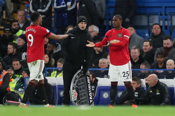 Ighalo speaks out on potential Martial partnership at Man United