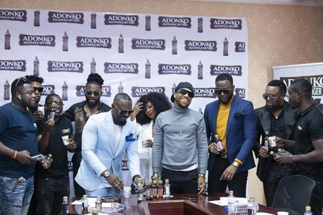 Adonko Bitters, Jim Iyke, Ini Edo, Charles Okocha