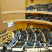 Covid and conflicts compete for attention at African Union summit