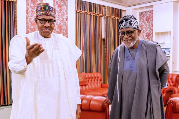 Buhari predicts victory for Akeredolu