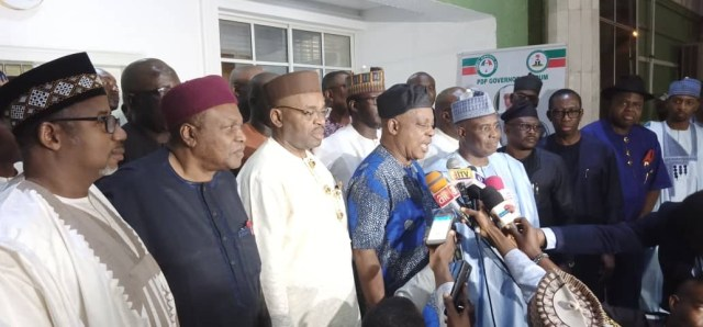 PDP, Governors