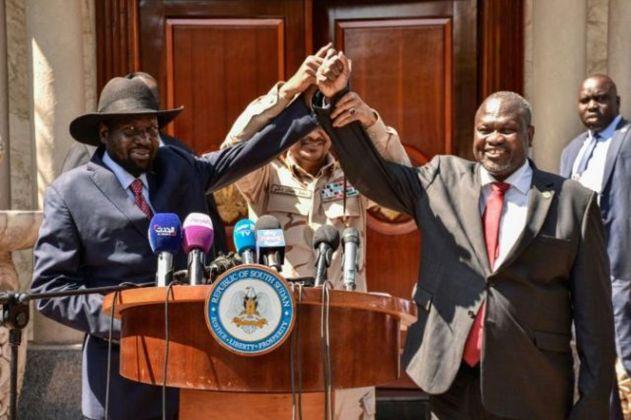 South Sudan rebel leader Machar sworn in as vice president