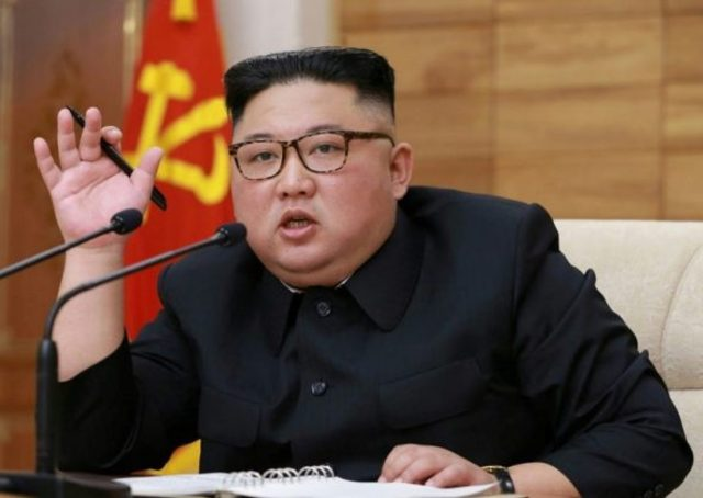 North Korea's Kim sends aid to city locked down over coronavirus