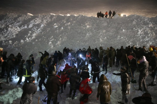 Many dead after two avalanches strike in Turkey, killing rescuers