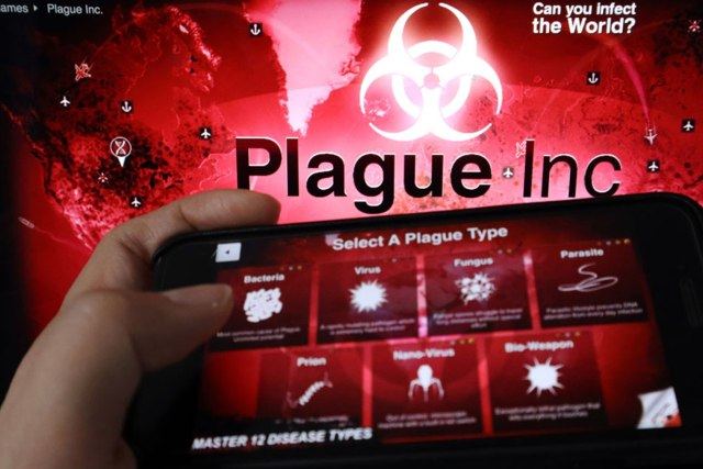 Virus game 'Plague' app pulled in China ?Developer