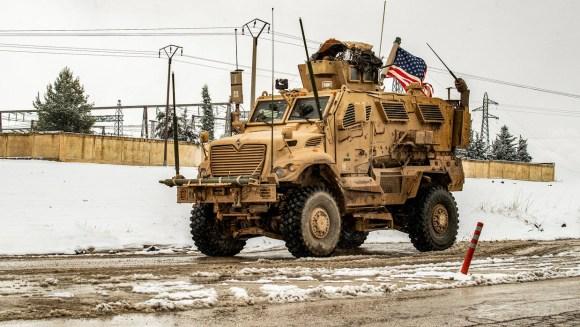 US-led coalition clashes with Syria regime loyalists