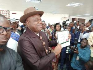 UPDATED: INEC declares PDP candidate, Diri, winner of Bayelsa guber election